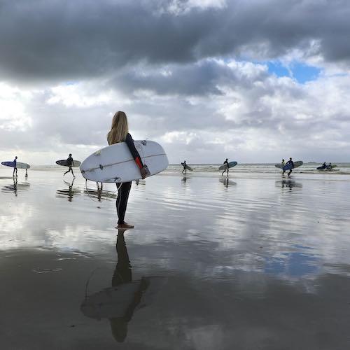 SURFING OG SURF kursus ved Hirtshals Tornby Tversted