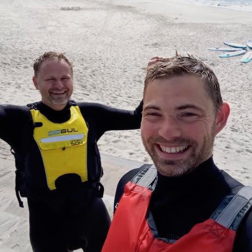 SUP UNDERVISERNE FRA SURF OG NATUR HIRTSHALS -
